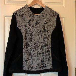 Anthropologie Burke Embellished Bomber